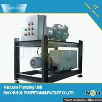 Transformer Use Vacuum Pump System,high vacuum,mobile type, outdoor use with metallic cover,high sucking spe Manufactures