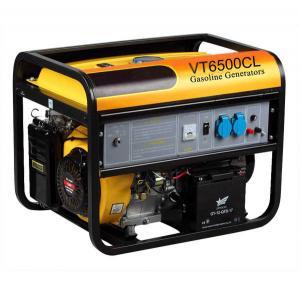 China Light Weight 5KW Electromagnetic Gasoline Engine Generator Set VT6500CL on sale