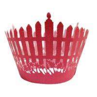 Custom Cricut New design bridal shower Decorative Cupcake Wrappers for Wedding Manufactures
