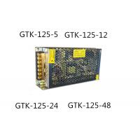 Dual Output AC DC Switching Power Supply , 5v 25a Power Supply 125W High Reliability Manufactures