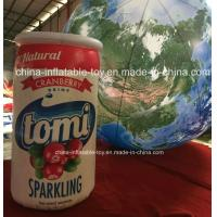 Customized Inflatable Bottle Model for Production Promotion , Inflatable Promotional Products Manufactures