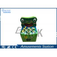 Cartoon Patterns Redemption Game Machine Electronic Frog Whack A Mole Manufactures