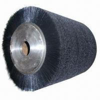 Brush Roller, Suitable for Industrial Use, Made of PP and Steel Wire Manufactures