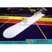 Card Transmission Casino Table Accessories Brand Shovel With Custom Printing Logo Manufactures