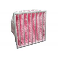 Buy cheap HVAC System Glass Fiber Multi - Pocket Air Filter F6 - F8 Efficiency For from wholesalers