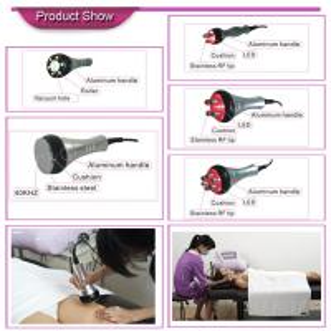 Quality Ultrasonic RF Vacuum Cavitation Slimming Machine For Fat Dissolving , Skin for sale