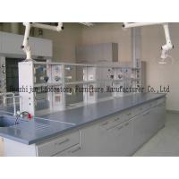 China Chemical Laboratory Science Classroom Furniture Non - Slip Adjusted Feet on sale