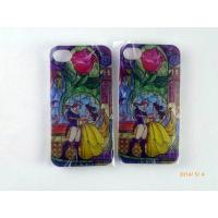 China Apple Iphone 5 5S TPU Plastic Cell Phone Covers With Cartoon Pattern on sale