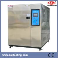 Temperature Impact Three Zones Thermal Shock Chamber Air - Cooled Programmable Manufactures