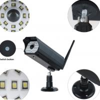 3W Simulation Monitoring Solar Powered Led Security Motion Detector Outdoor Lights Manufactures