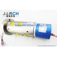 2 ~36 Circiuts Power Singnal Hybrid Slip Rings / Hydraulic Rotary Union 6 Passage Oil Manufactures