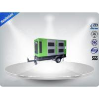 Rental Three Phase Trailer Mounted Generator 4 Wires Self - Excited Control System Manufactures