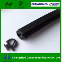 Gray EPDM Door Frame Rubber Sealing Strip for Curtain Wall / Window Manufactures