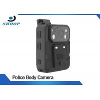 Build - In GPS Law Enforcement Body Camera , Police Body Cameras With 140 Degree Angle Manufactures
