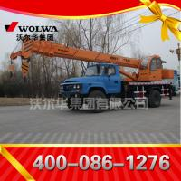Chinese manufacturer small wheel crane truck mounted crane with telescopic GNQY-jiantou Manufactures