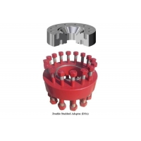 "13-5/8"" X 5M To 18-3/4"" X 15M API 6A Double Studded Adapter/DSA Flange For Wellhead Manufactures"