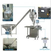 Semi Automatic Milk Tea Powder Bag Packing Machine For 50g-2kg Low Noise Manufactures