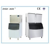 Split Type Cube Ice Making Machine Constant Voltage Device R404A Refrigerant Manufactures