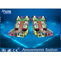 CE Certificated Bowling Amusement Game Machines 2 Player Metal Material Manufactures