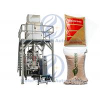 Silica Sand Granule Packing Machine , Alumina Spinel Particle Filling Machine Manufactures