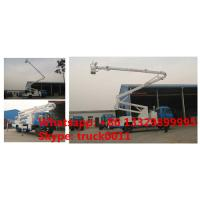 dongfeng RHD Truck Mounted Aerial Working Platform High Altitude Working Truck, dongfeng 18m-22m hydraulic bucket truck Manufactures