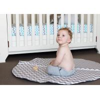 Safe Fabric Infant Baby Accessories Children Play Mat 100% Cotton For Play On The Floor Manufactures
