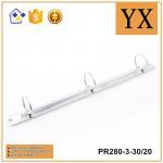 Hot Sale Bright Nickel Finished Metal 3 Ring Binder Clipboard PR280-3-30/20 Manufactures