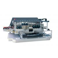 45 Angle Auto Double Glass Edging Machine With 2 Sets Servo Motors , high speed Manufactures