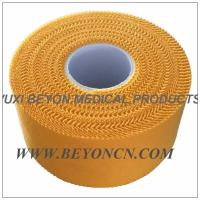 Zig - zag Yellow Breathable Athletic Training Tape For Trainer Athlete Daily Protection Manufactures