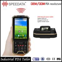 Hand Android Nfc Card Rfid Reader Mobile Industrial With Barcode Scanner In A Unit Manufactures