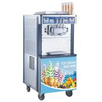 Floor Soft Ice Cream Commercial Refrigerator Freezer With 2 Flavor Manufactures