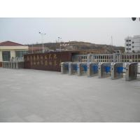 Acrylic optical flap barrier with RFID readers high flow pedestrian gate Manufactures