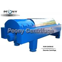 Buy cheap Large Capacity Decanter Centrifuges Horizontal Continuous Separation Centrifuge from wholesalers