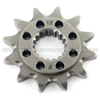 20 MN Steel Front Dirt Bike Chain Sprocket With Closet Tolerance And Best Teeth Profile Manufactures