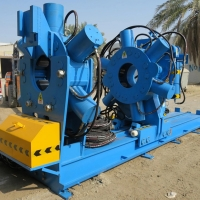 Tubing/ Casing Coupling Bucking Unit, Make-up and Breakout Machine For Pipes Manufactures