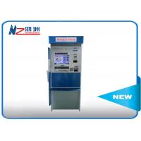 Restaurant Coin Counting Kiosk Self Service Vertical Type Post Parcel Touchscreen Manufactures