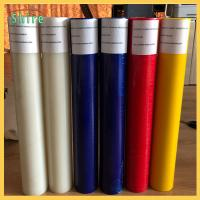 Self Adhesive Glass Protective Film , Sticky Protective Film During Construction Manufactures