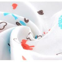 Quality Simple Infant Baby Accessories With Reactie Dyes Printed Colorful Lovely for sale