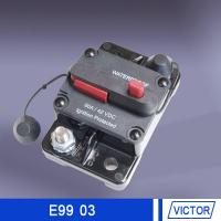 Push button reset circuit breaker  30 amp 50 amp 12volt for marine engine compartments Manufactures