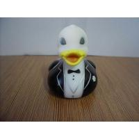 Quality Pink Wedding Rubber Ducks Gift , Small Bride And Groom Rubber DucksPhthalate Free for sale