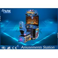 Quality Coin Operated Racing Game Machine Arcade H2 Overdrive Amusement Park Equipment for sale