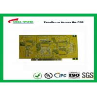 Gold Finger PCB for Computer 4 Layer PCB Thickness 1.6mm Immersion Gold UL , ROHS , ISO Manufactures