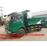 Quality dongfeng 6 wheel dump truck with tarp cover Specifications of dongfeng 6 wheel for sale
