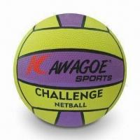 Buy cheap Netball, Made of Rubber Material, Customized Colors Available, OEM Orders from wholesalers