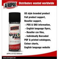 Fast Dry Car Acrylic Spray Paint Cans , Flexible And Strong Adhesive Manufactures