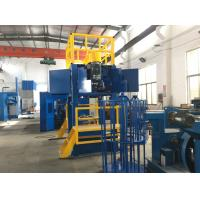 0.4mm-1.6mm Wire Take Up Machine , AC 15KW 1200m/min Copper Wire Down Coiler Manufactures