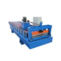 Buy cheap ISO9001 Approved Making Prefab House Roofing Roof Sheet Forming Machine from wholesalers