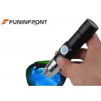 China USB Rechargeable 365NM UV LED Torch Black Light MINI Flashlight for Gem Detect on sale
