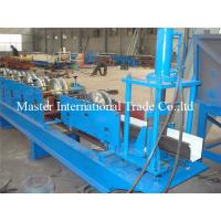 Half Round / Rectangular Gutter Roll Forming Machine with hydraulic cutting Manufactures