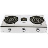 Buy cheap Two Burner Table Top Portable Natural Gas Hob Iron With Enamel Pan Support from wholesalers